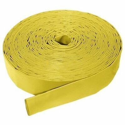 "Yellow Lay Flat Delivery Hose I/D 3"" (Per Metre)"