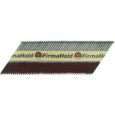Firmahold Nail & Gas Pack (2200x Nails  2x Gas) Ring Shank - 3.1mm x 90mm Lengt
