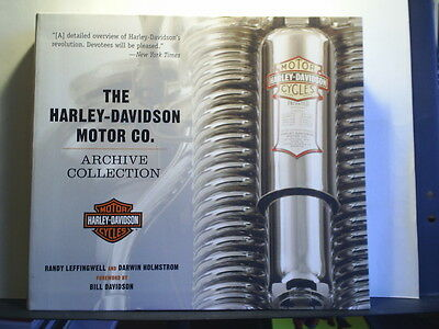 THE HARLEY-DAVIDSON MOTOR CO ARCHIVE COLLECTION - RANDY LEFFINGWELL Paperback