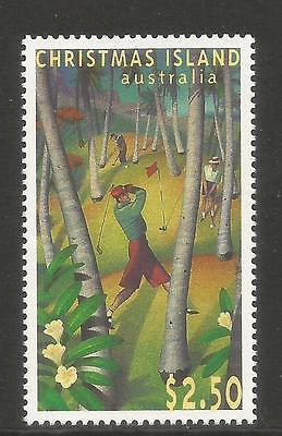 Christmas Island 1995 Golf Course 40th Anniv--Sports Topical (369) MNH