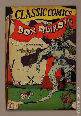 Classics Illustrated 011 Don Quixote (1943) #4 VG 4.0