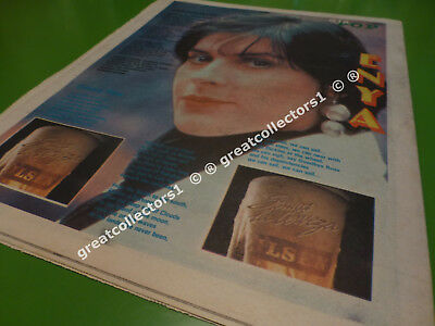 Rush Enya Laurie Anderson In 8 Pages Southamerika 1989   Magazine Newspaper