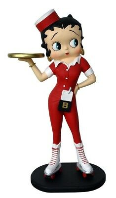 Betty Boop Statue Waitress Life Size Figurine Restaurant Display Home Decor