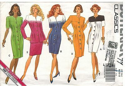 6147 Vintage Butterick Sewing Pattern Misses Dress Top Skirt UNCUT Classic OOP