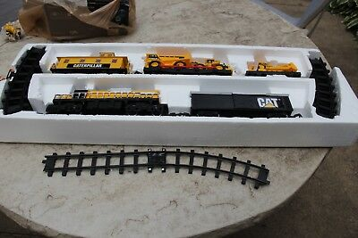2007 Toy State #55650 Caterpillar CAT Construction Express Train Set - Complete