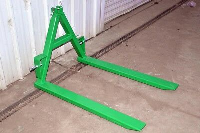 3PL Carry-All Fork Attachment, (Cat 1) 3-Point-Linkage, Ideal for Pallets etc.