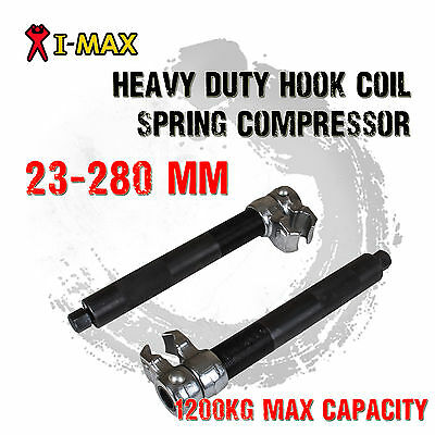 I-Max Heavy Duty Coil Spring Compressor Hook Strut Clamp Suspension CarAuto Tool
