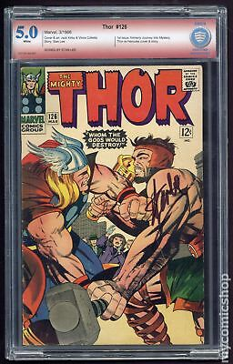 Thor (1962-1996 1st Series Journey Into Mystery) #126 CBCS 5.0 SS