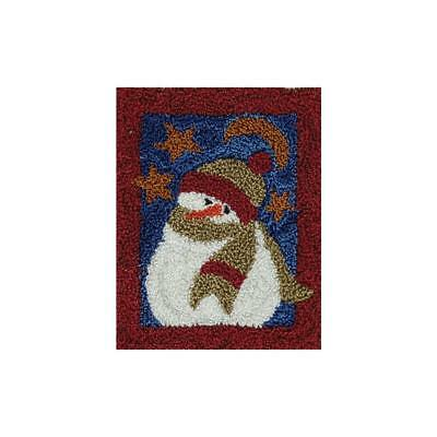 Snowman Punch Needle Embroidery Kit