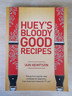 Huey's Bloody Good Recipes~50 Master Recipes with 400+ Variations~Iain Hewitson