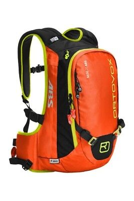 Ortovox 20L ABS Avalanche Safety Airbag Base - Orange