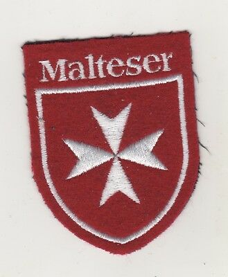 Original Aufnäher Patches Malteser