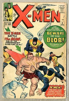 Uncanny X-Men (1963 1st Series) #3 GD 2.0