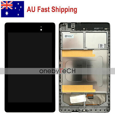 AU For ASUS Google Nexus 7 2nd Gen 2013 ME571K LCD Display Touch Assembly+Frame