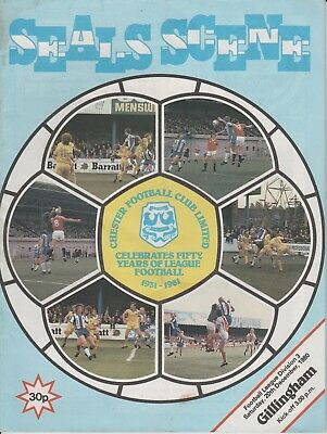 Chester v Gillingham  20-Dec-1980
