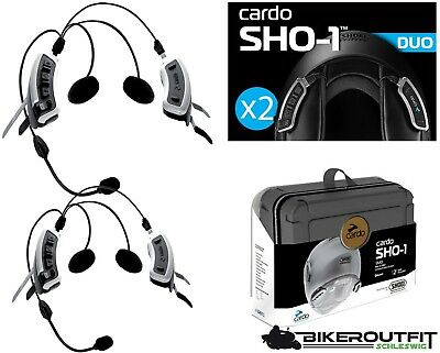 CARDO Headset SCALA RIDER SHO-1 MULTI Set Kommunikation Sprechanlage für Shoei