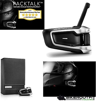 CARDO Interkom Bluetooth-Headset SCALA RIDER PACKTALK Single DMC und Bluetooth