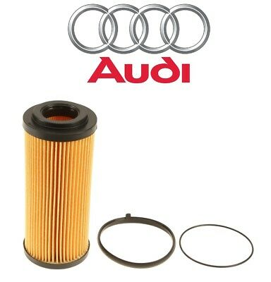 For Audi A4 A5 A6 Quattro Q5 Q7 S4 S5 VW Touareg Engine Oil Filter Kit Genuine