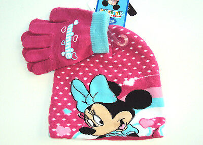 Offerta Set Berretto + Guanti  Minnie 2/3 Anni  (470)