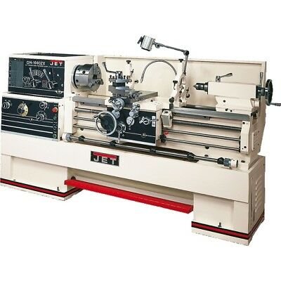 """JET 321940 GH-1660ZX, 3-1/8"""" Spindle Bore Geared Head Lathe"""