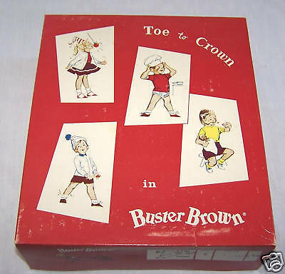 Buster Brown Pajama Board Box-Pj's-Box Only
