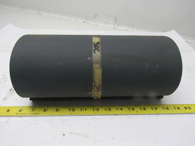 "2 Ply Gray Rubber Smooth Top Conveyor Belt 22'- 2"" x 11-3/4"" x .0625"" Endless"