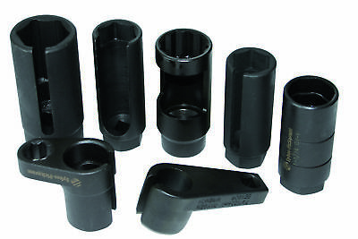 Sykes-Pickavant 01690000 |Oxygen (Lambda) Sensor Socket Set 7pc All Common Sizes