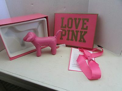 Victoria's Secret Pink Dog limited edition mini dog employee 2010