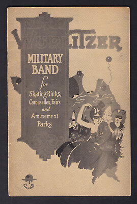 Wurlitzer Military Band Organ - Skating Rinks, Carouselles, Fairs RARE Catalogue