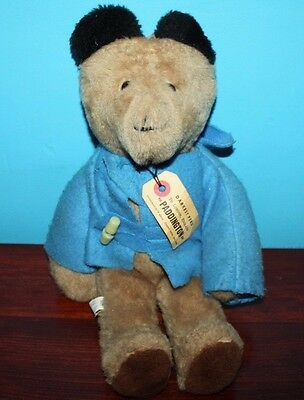 Paddington Bear 1975 Eden Darkest Peru London England Stuffed Teddy