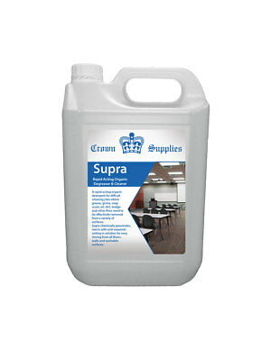 SUPRA Rapid Acting Organic Degreaser and Cleaner 5L