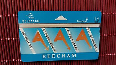 Private Card Beecham Belgium (Mint,Neu) Rare