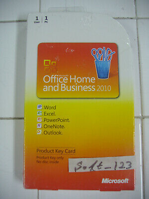 Microsoft Office 2010 Professional Product Key Card (PKC) MS Pro =BRAND NEW=