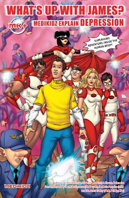 What's Up with James? Medikidz Explain Depression, Good Condition Book, Shawn De