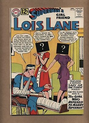 Superman's Girlfriend Lois Lane 38 (G+) Silver Age; DC Comics; 1963 (c#15920)