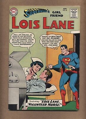 Superman's Girlfriend Lois Lane 43 (GVG) Silver Age; DC Comics; 1963 (c#15925)