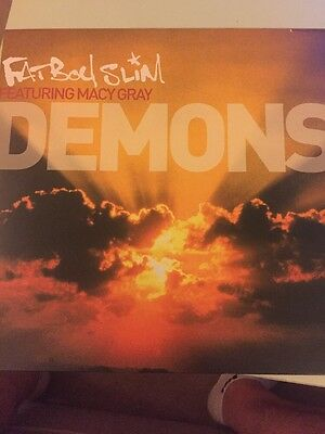 "Fatboy Slim feat Macey Gray - Demons, SKINT60, 12"" Vinyl"