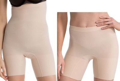 Spanx Shaper L Higher Power & Power Shaping Shorts 2 Pack Nude New