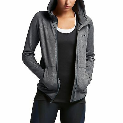 Nike Women's All Time Full-Zip Therma-FIT Training Hoodie Jacket