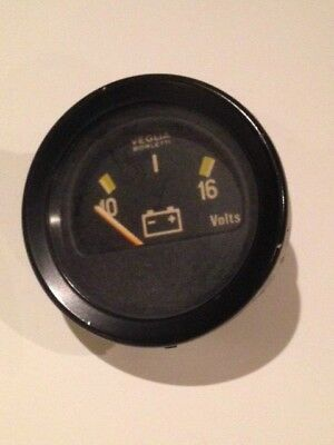 Veglia Borletti Battery Voltage Gauge