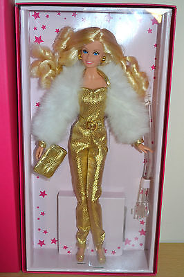 2015 Gold Label Superstar Forever Collection GOLDEN DREAM Barbie - NEW W/Shipper