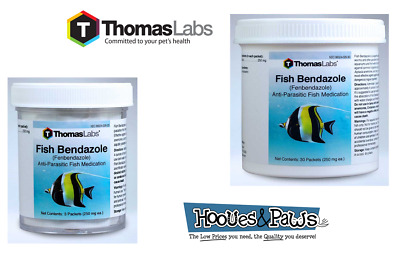 Fish Bendazole - Fenbendazole - Powder 250mg 3 or 12 Packets