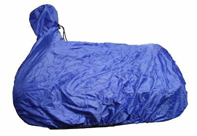 Showman Fitted Nylon Western Saddle Cover BLUE Folds Up w/Drawstring