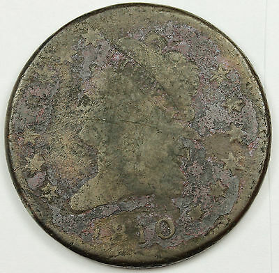 1810  Large Cent.  V.G. Detail.