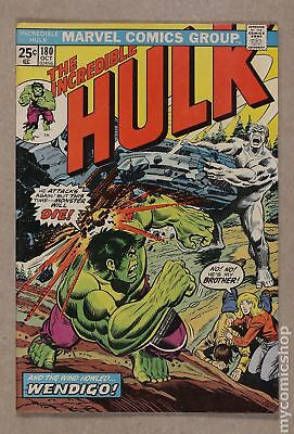 Incredible Hulk (1962-1999 1st Series) #180 FN 6.0