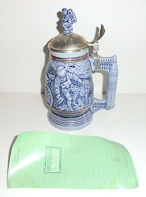 Avon 1991 CONQUEST OF SPACE Stein with Pamphlet