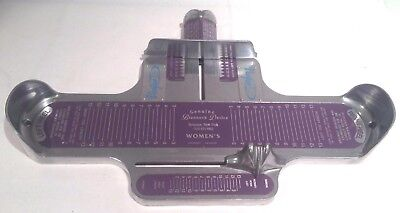 """Vintage Brannock Device Advertising """"Red Wing Shoes"""",Shoe Sizing Tool,Measure"""