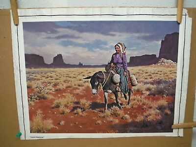 M Nye Desert Madonna and The Sentinel poster 1976 1977 lot (2)