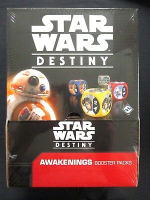 OEJ ~ Star Wars Destiny ~ Awakenings Booster Display Box ~ 36 Packs SEALED