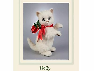 "R John Wright ""Holly"" The Christmas Kitten"